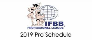 Календарь соревнований IFBB Pro на 2019 год
