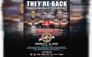 Шон Роден и Биг Рами возвращаются и выступят на Arnold Classic USA 2020